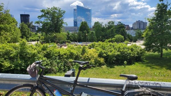 """""""It Ain't no Copenhagen!"""" - But Biking in Philly Can Still be Beautiful"""