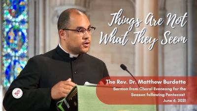 The Rev. Dr. Matthew Burdette