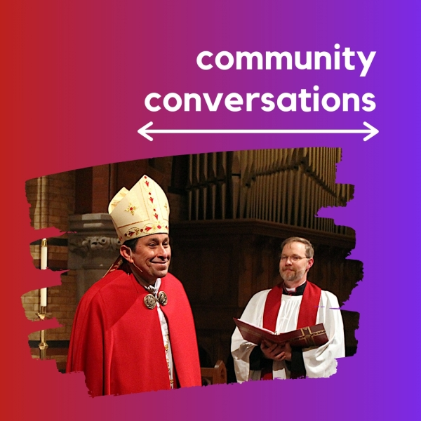 A Chat with the Bishop (Note the earlier time!)