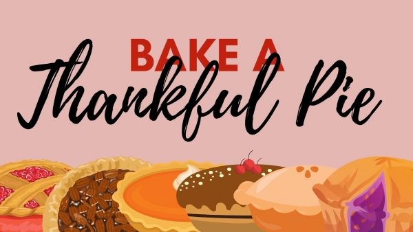 Bake Some Thankful Pies as a Family