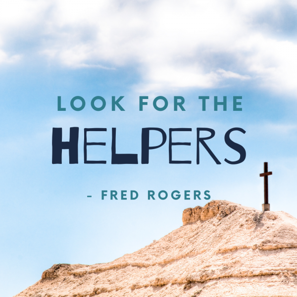 Looking for Helpers in Holy Week