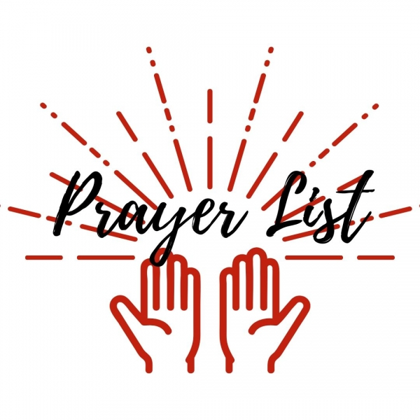 Prayer List: January 21, 2021