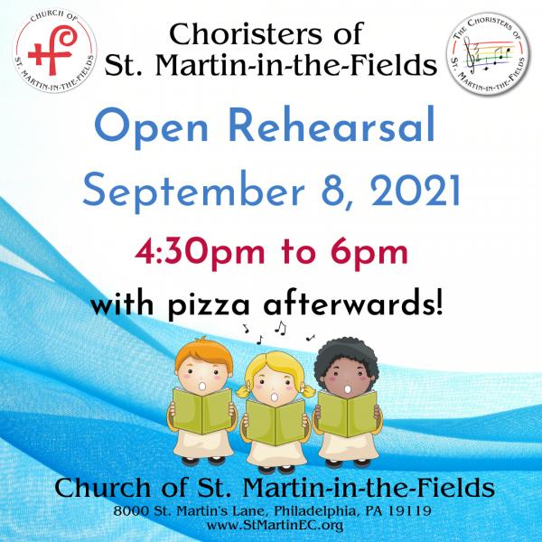 Choristers Open Rehearsal