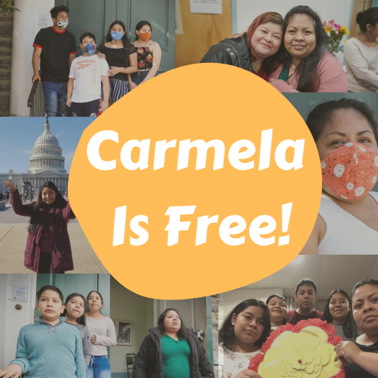 Carmela and Her Children Are Free!